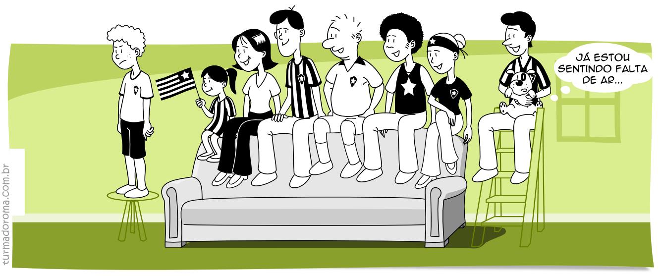 Tirinha 12 Botafogo Libertadores