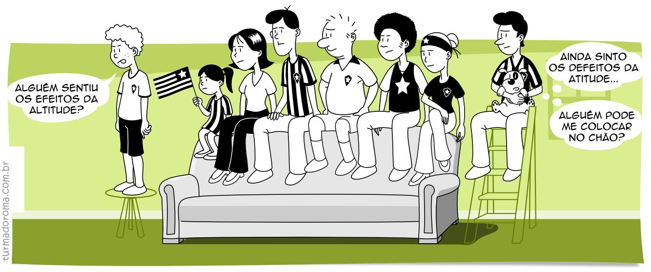 Tirinha 13 Botafogo Libertadores 2014