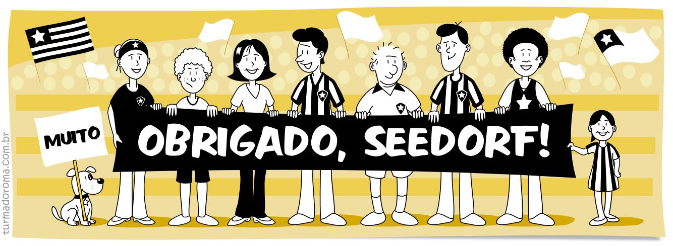 Tirinha 9 Botafogo Seedorf