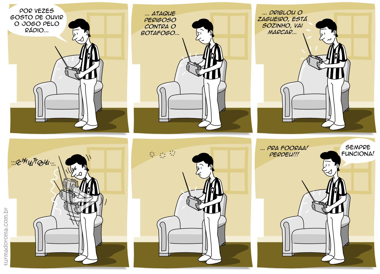 Tirinha 5 Superstições Botafogo