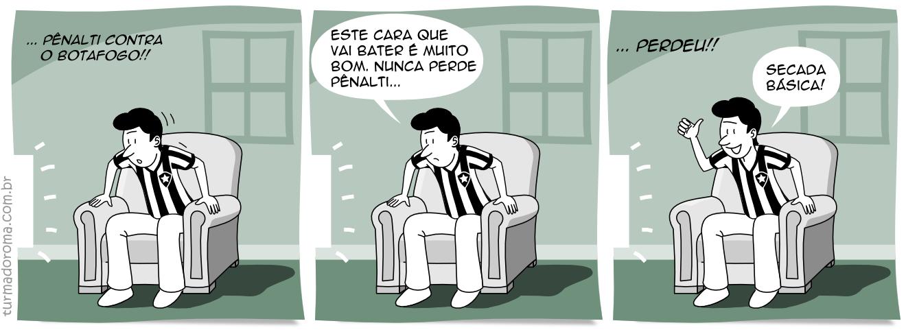 Tirinha 6 Superstições Botafogo