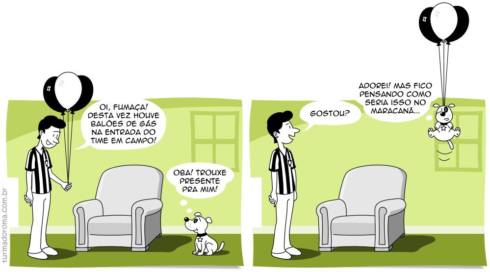 Tirinha 18 Botafogo Libertadores