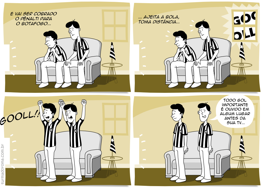 Tirinha 20 Botafogo