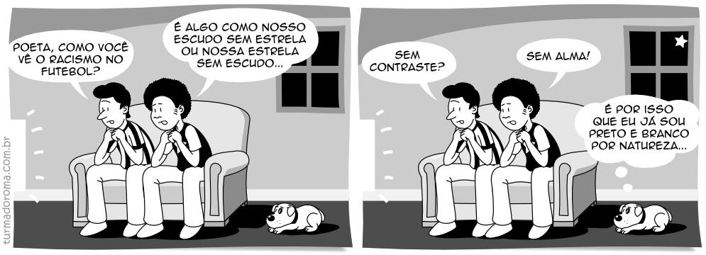 Tirinha 22 Botafogo Racismo