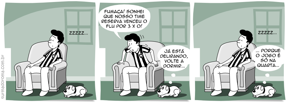 Tirinha 23 Botafogo Campeonato Carioca 2014