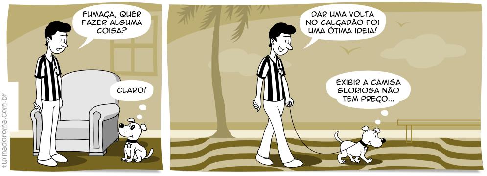 Tirinha 34 Botafogo Hábito