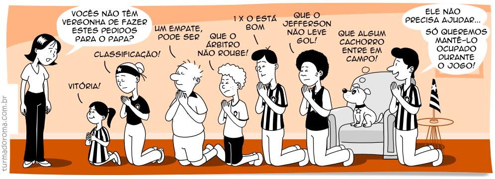 Tirinha 38 Botafogo
