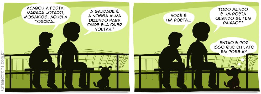 Tirinha 40 Botafogo
