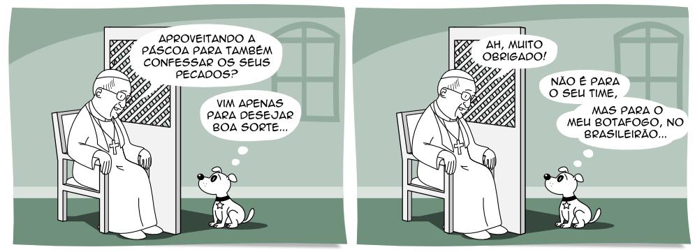Tirinha 41 Botafogo