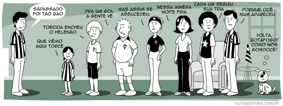 Tirinha 49 Botafogo