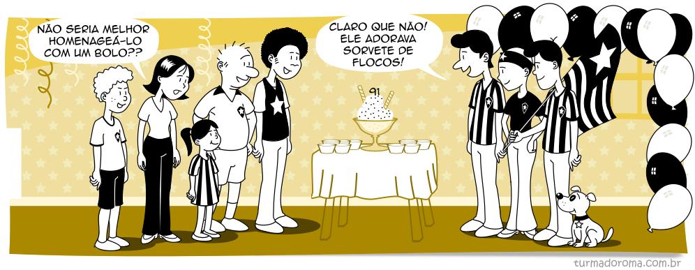 Tirinha 50 Botafogo