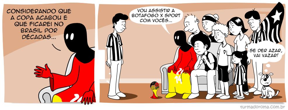 Tirinha 64 Botafogo