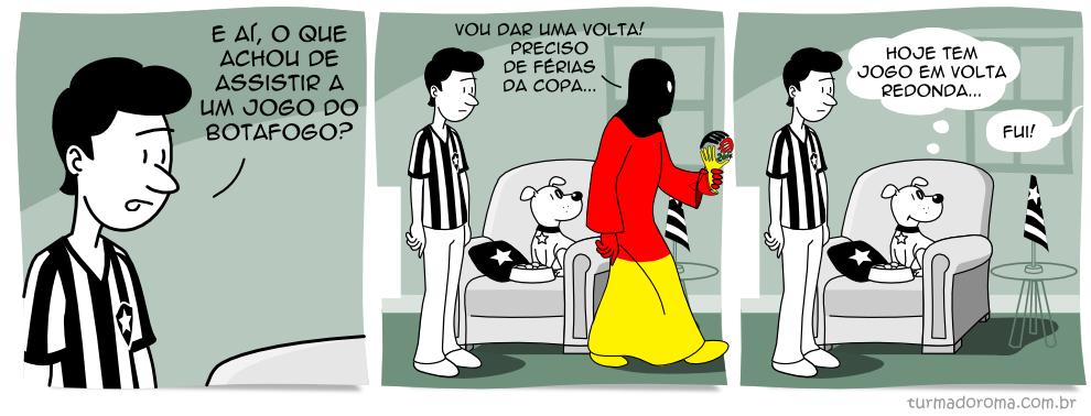 Tirinha 65 Botafogo