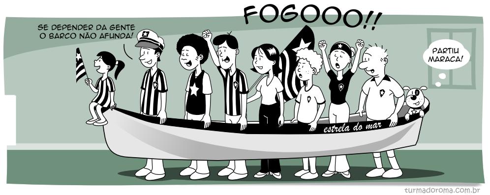 Tirinha 68 Botafogo