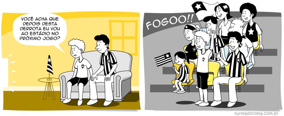 Tirinha 74 Botafogo