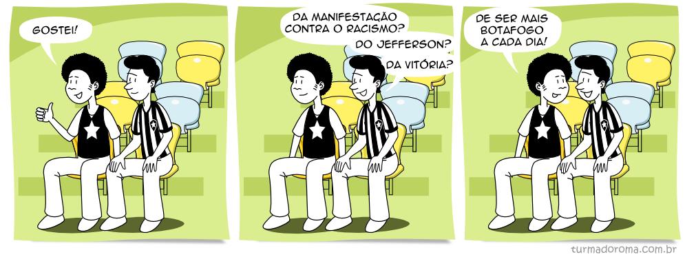 Tirinha 77 Botafogo