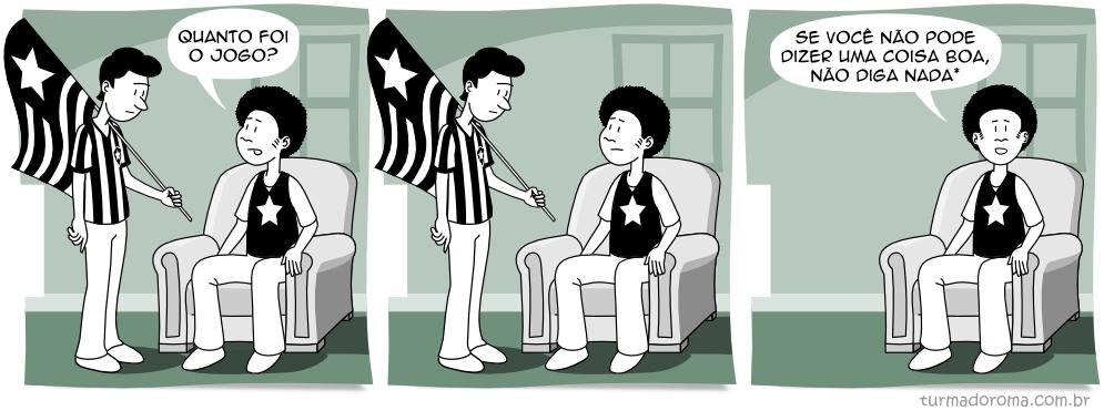 Tirinha 82 Botafogo
