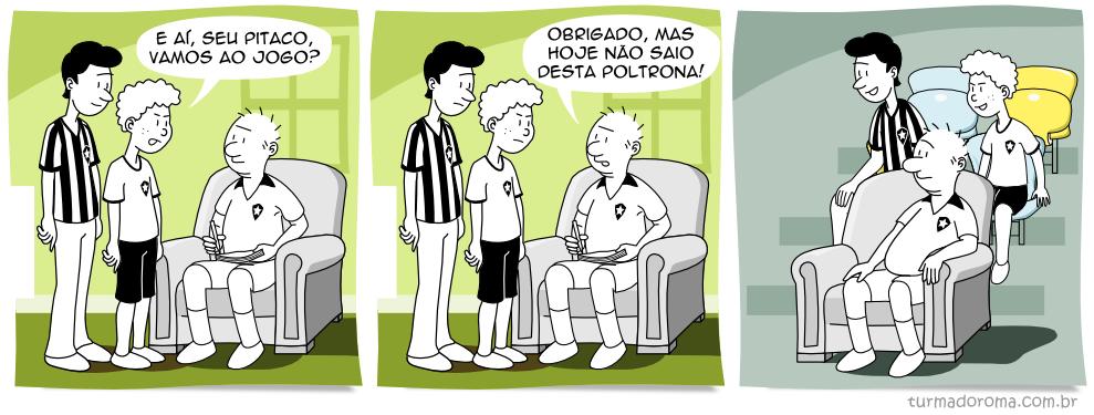 Tirinha 85 Botafogo
