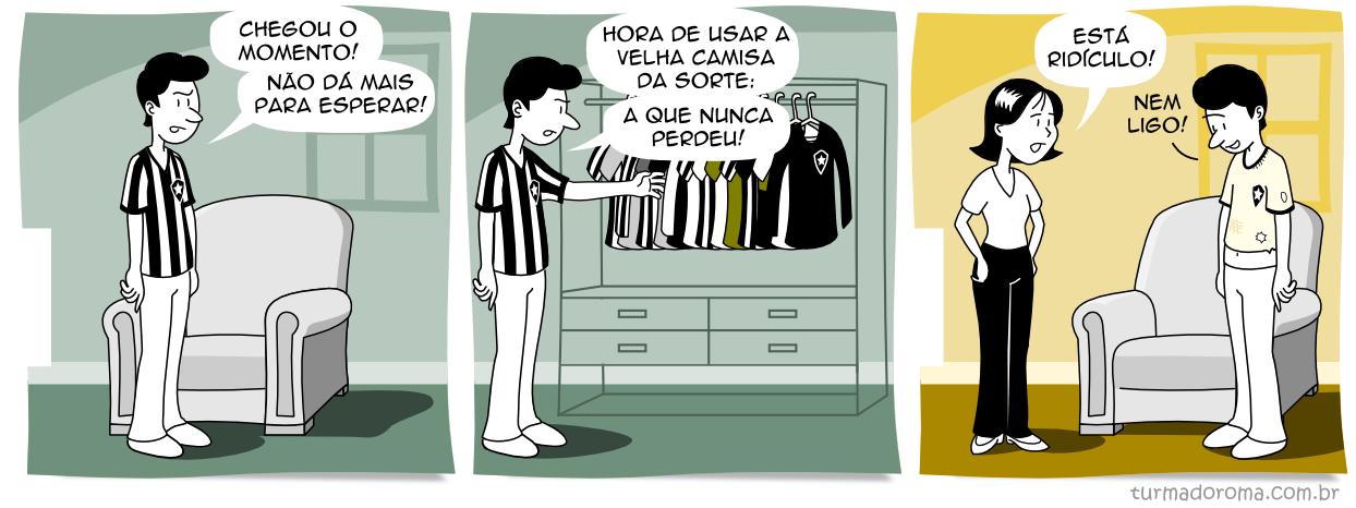 Tirinha 101 Botafogo