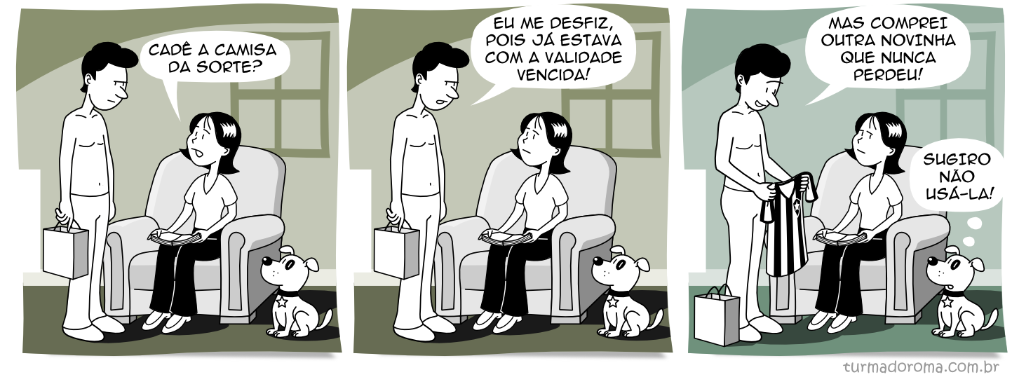 Tirinha 104 Botafogo
