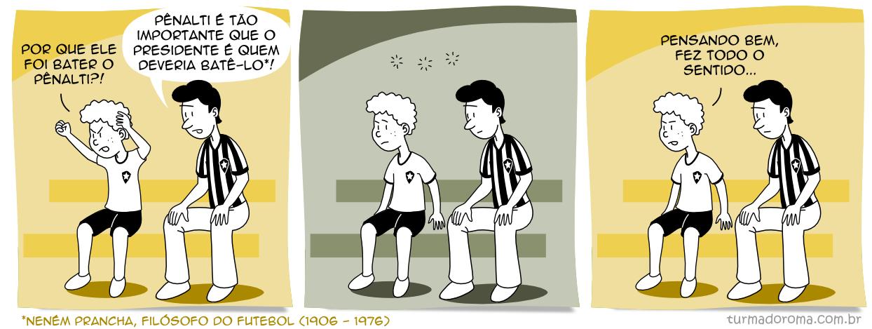 Tirinha 105 Botafogo