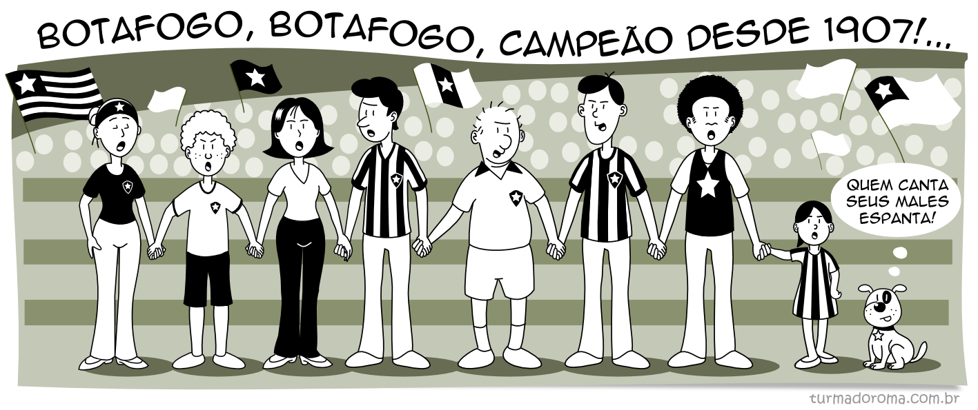 Tirinha 106 Botafogo