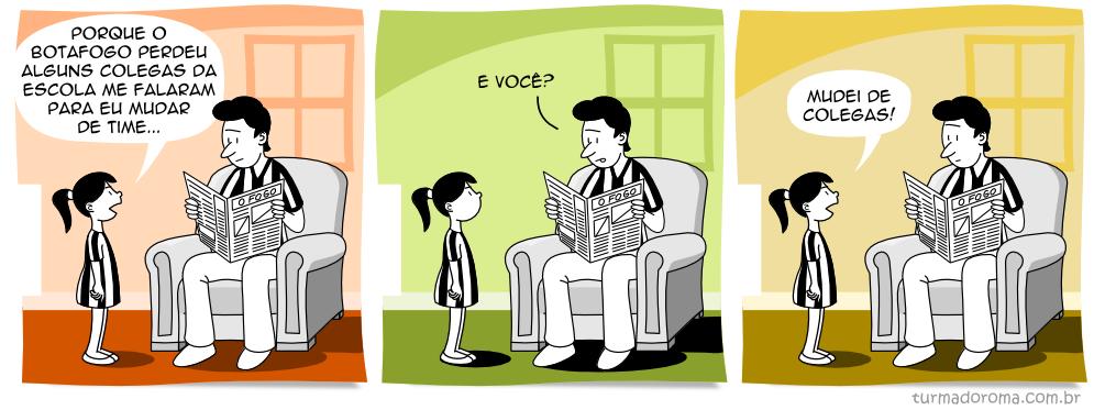 Tirinha 96 Botafogo