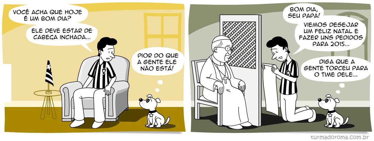 Tirinha 115 Botafogo