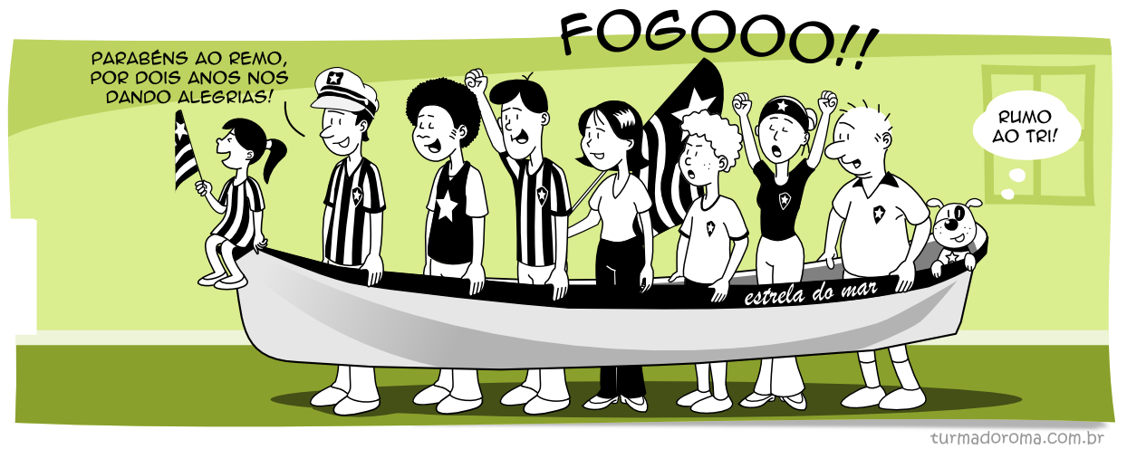 Tirinha 119 Botafogo