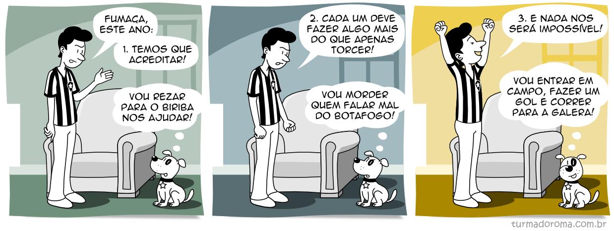 Tirinha 120 Botafogo