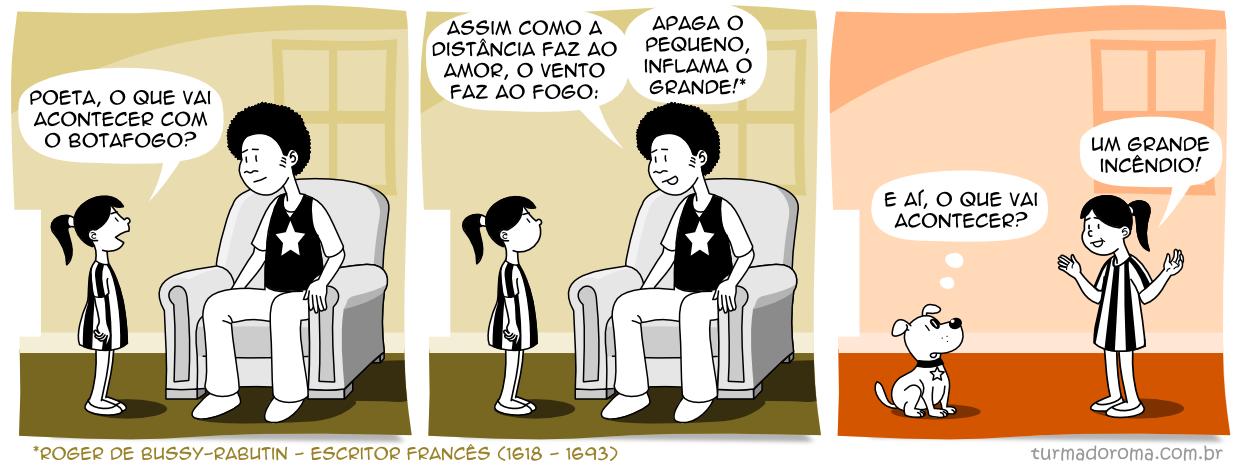 Tirinha 121 Botafogo