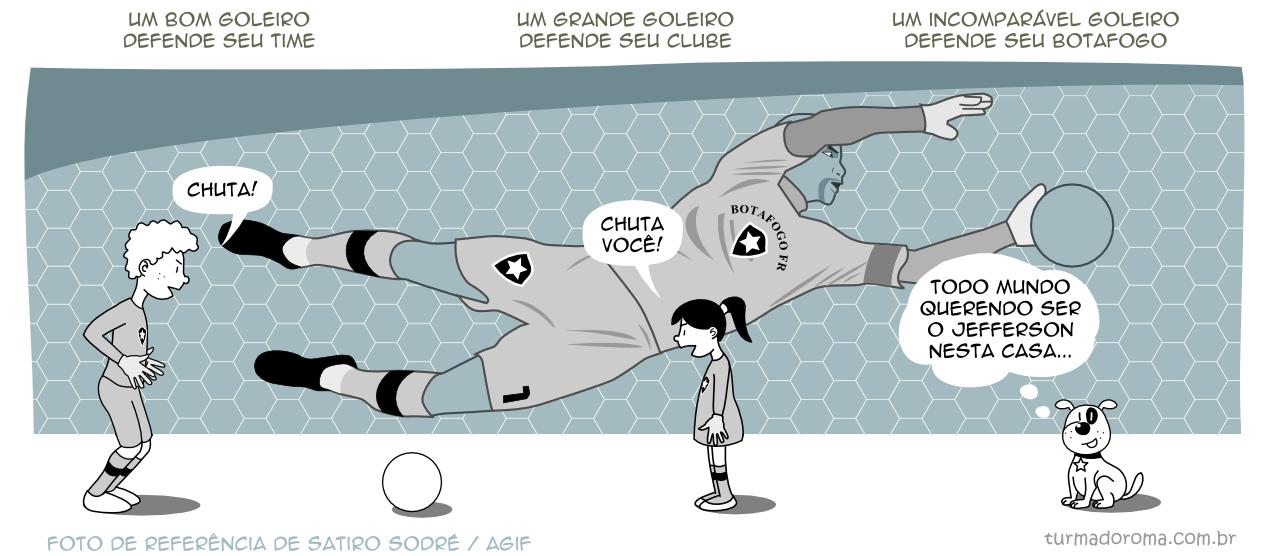 Tirinha 122 Botafogo
