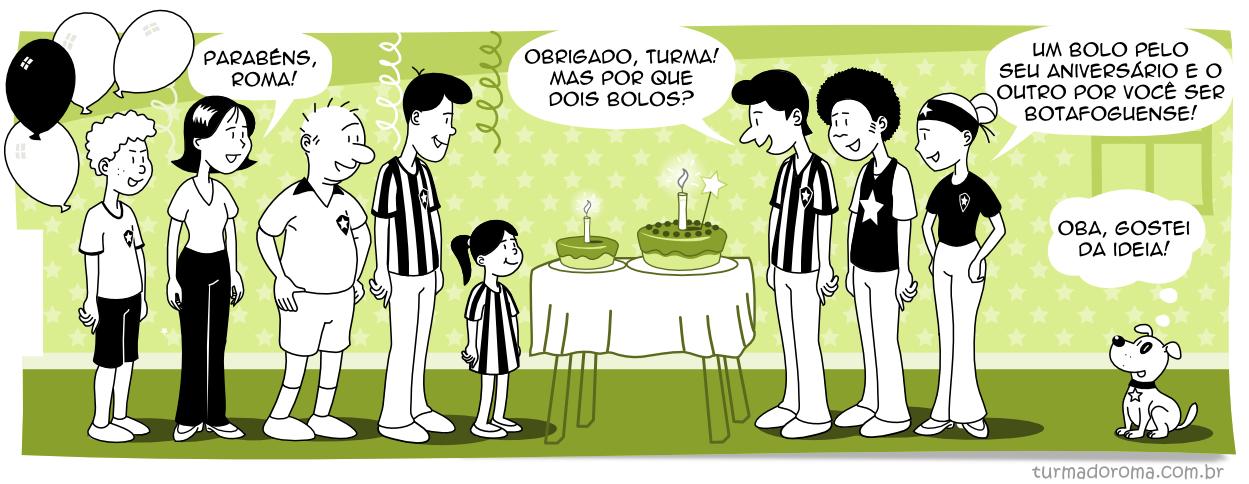 Tirinha 124 Botafogo