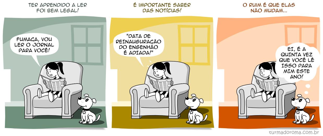 Tirinha 125 Botafogo