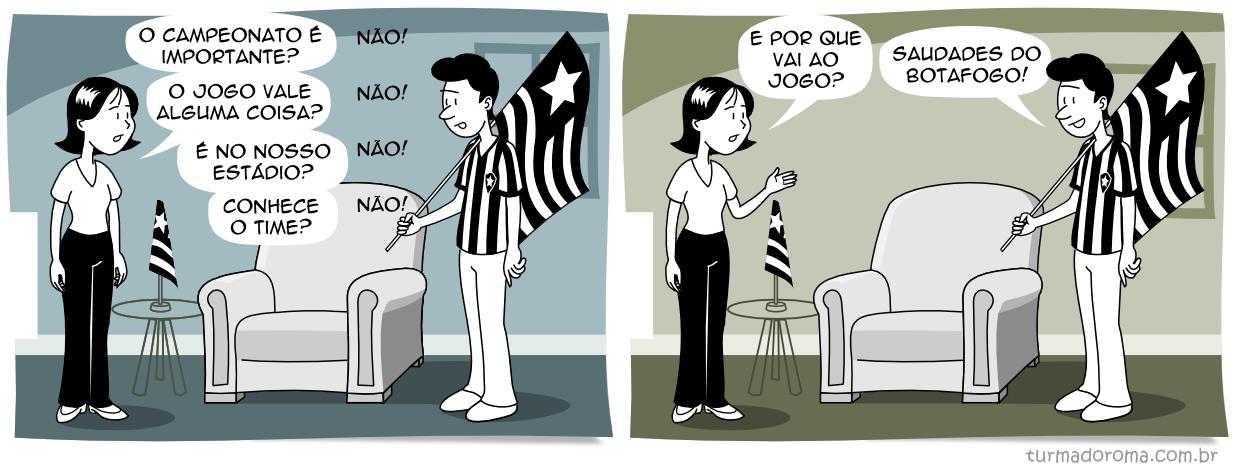 Tirinha 127 Botafogo