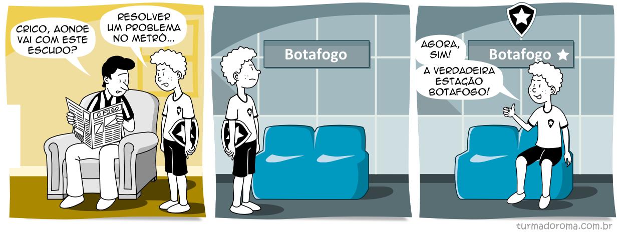 Tirinha 128 Botafogo