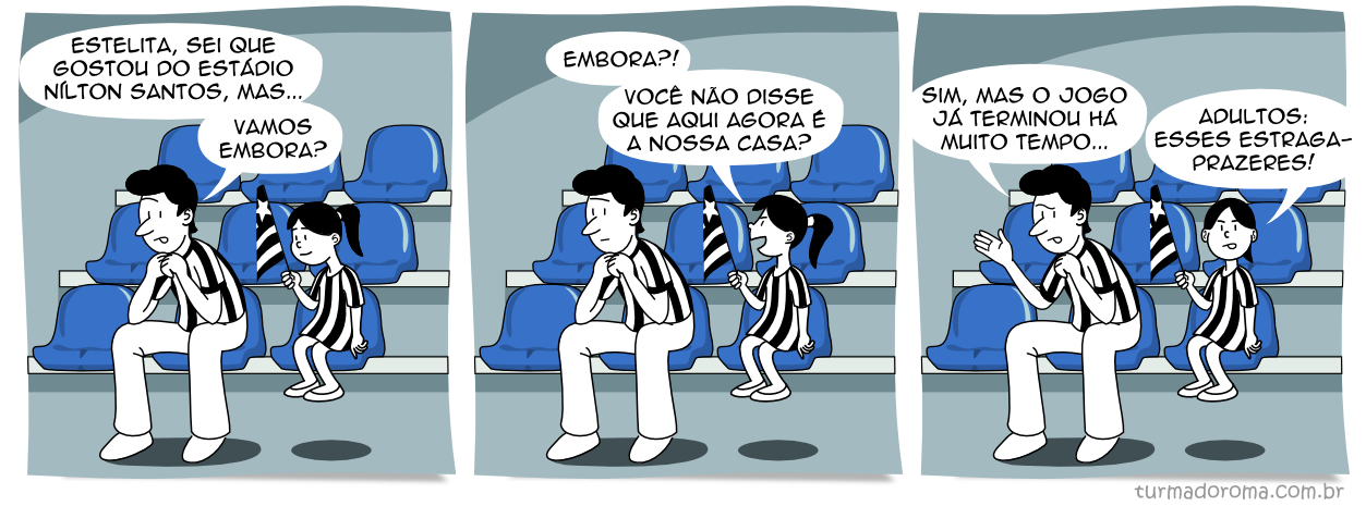 Tirinha 130 Botafogo