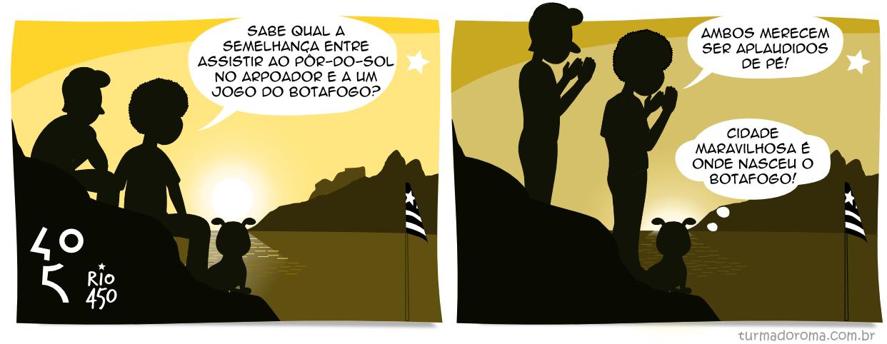 Tirinha 136 Botafogo