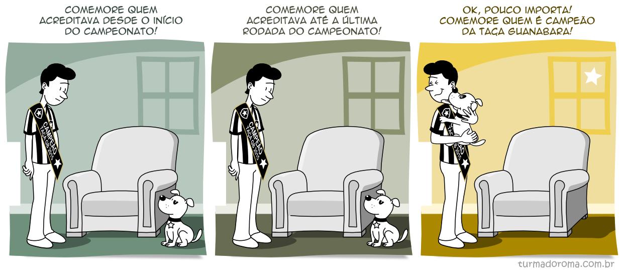 Tirinha 151 Botafogo
