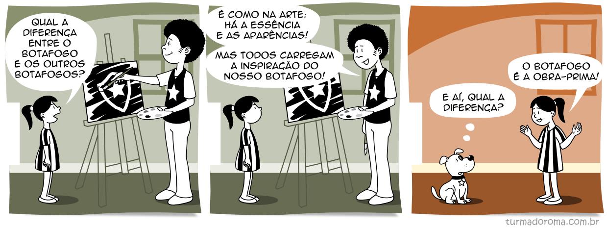 Tirinha 153 Botafogo