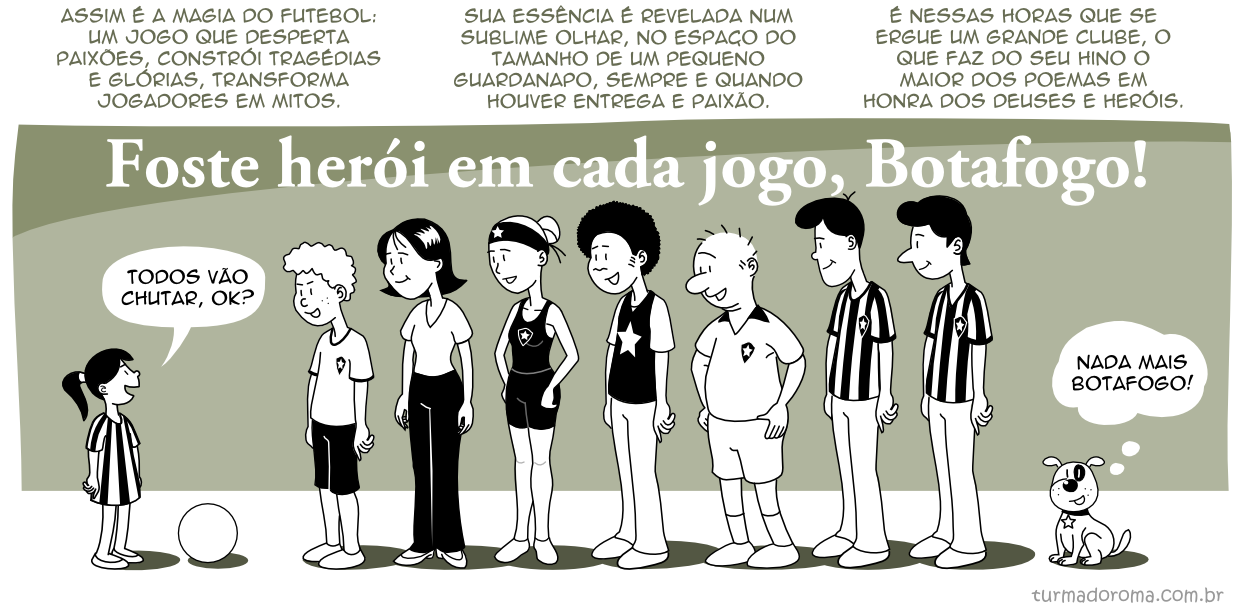 Tirinha 154 Botafogo