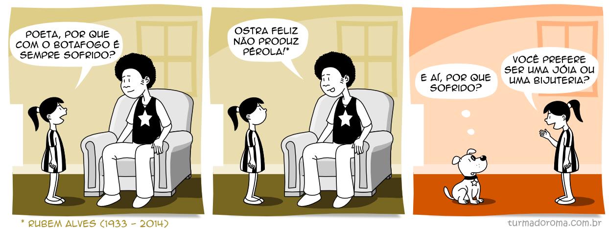 Tirinha 157 Botafogo