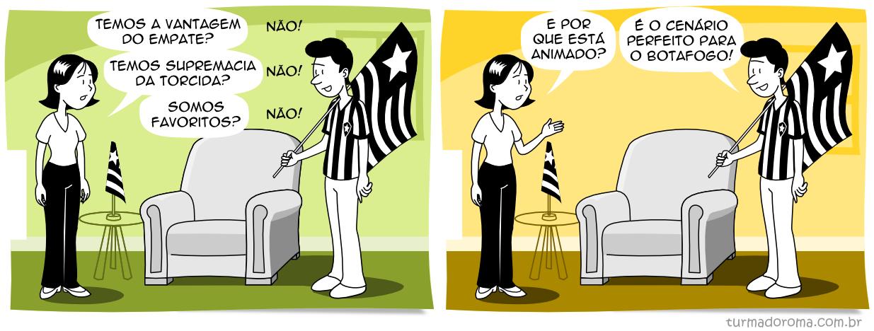 Tirinha 158 Botafogo
