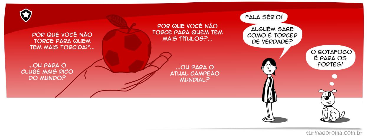 Tirinha 167 Botafogo