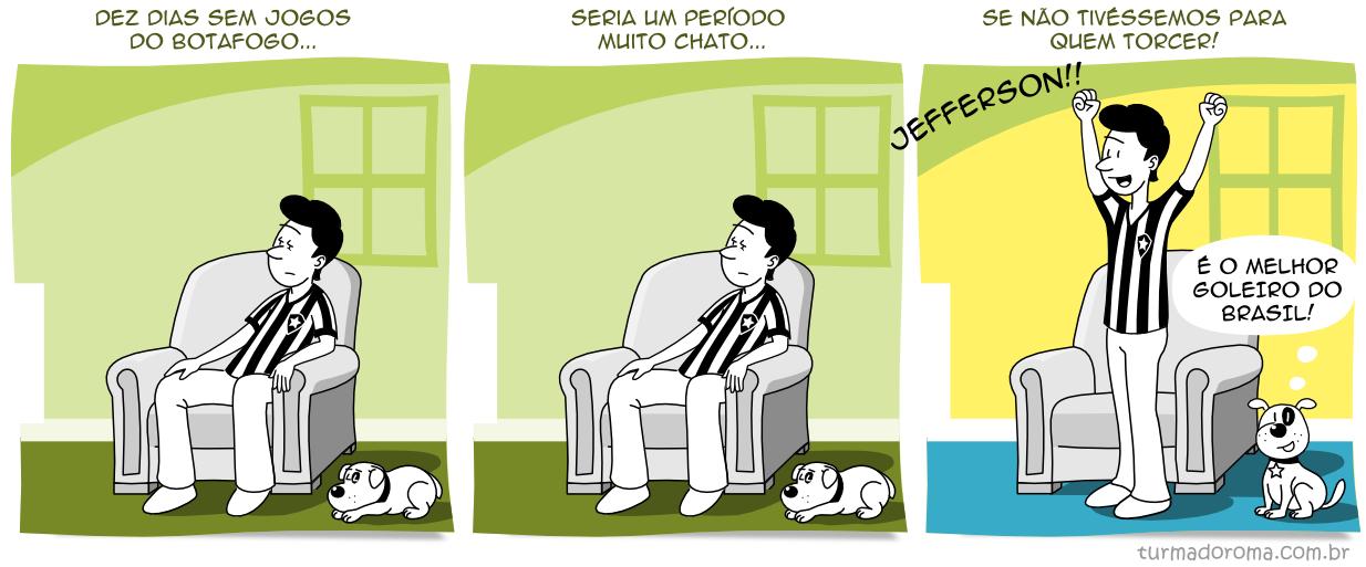 Tirinha 169 Botafogo