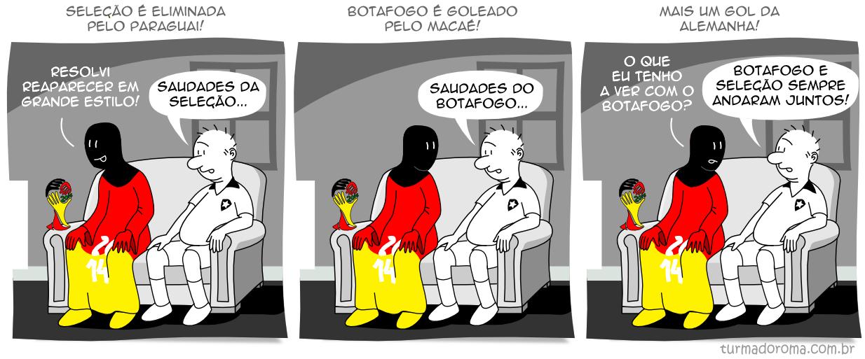 Tirinha 174 Botafogo