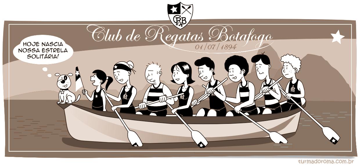 Tirinha 175 Botafogo