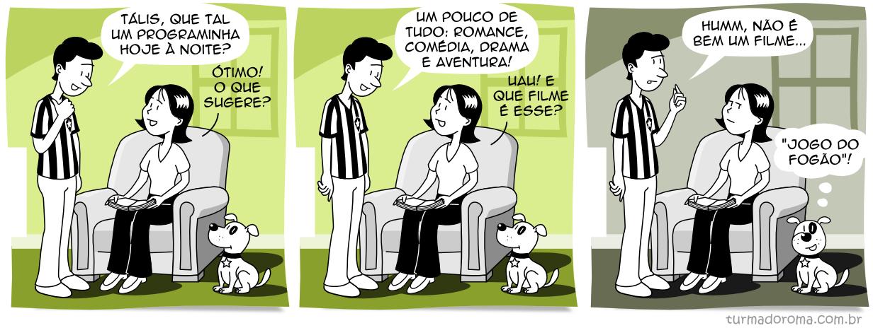 Tirinha 176 Botafogo