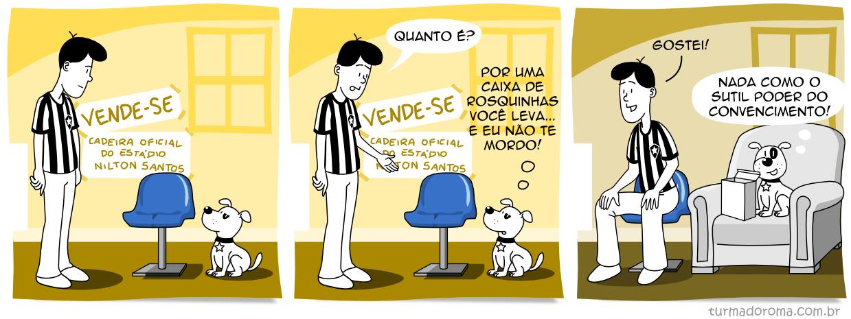 Tirinha 180 Botafogo