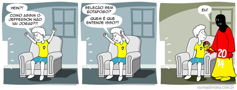 Tirinha 187 Botafogo